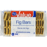 Kroger Value Fig Bar Cookies Food Product Image