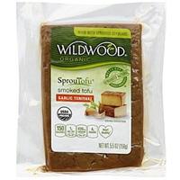 Wildwood Organic SprouTofu Garlic Teriyaki Smoked Tofu Food Product Image