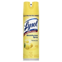 Lysol Disinfectant Spray Lemon Breeze Scent Food Product Image