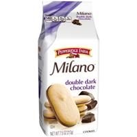 Pepperidge Farm Milano Double Chocolate Distinctive Cookies Food Product Image