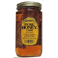 Honey Comb Jar 16 OZ (Pack Of 12) Food Product Image