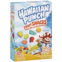 Hawaiian Punch Fruit Snacks Food Product Image