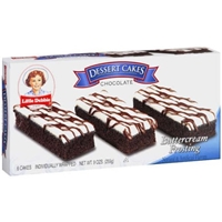 Little Debbie Dessert Cakes Chocolate, Buttercream Frosting Food Product Image