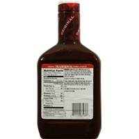 Kroger Traditional Bbq Sauce Food Product Image
