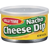 Valu Time Dip Nacho Cheese Food Product Image
