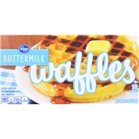Kroger Buttermilk Waffles Food Product Image