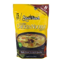 Shore Lunch Classic Chicken Noodle Soup Mix Food Product Image