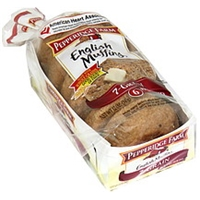 Pepperidge Farm English Muffins 7-Grain, Pre-Sliced Food Product Image