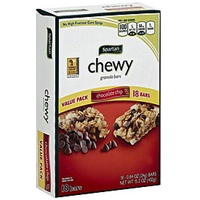 Spartan Granola Bars Chewy, Chocolate Chip, Value Pack Food Product Image