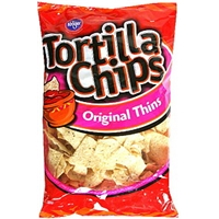 Kroger Tortilla Chips Original Thins Food Product Image