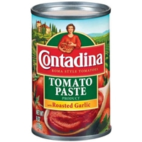 Contadina Roma Style Tomatoes Tomato Paste with Roasted Garlic Food Product Image