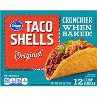 Kroger Taco Shells Food Product Image