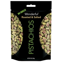 Wonderful Pistachios Roasted & Salted No Shells Food Product Image