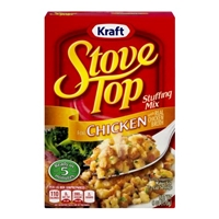 Kraft Stove Top Stuffing Mix Chicken Food Product Image