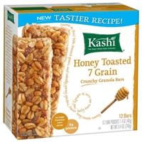 Kashi Honey Toasted 7 Grain Crunchy Granola Bars - 12 Ct Food Product Image