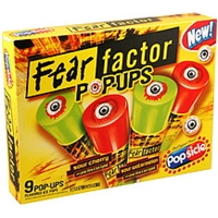 Popsicle Pop-Ups Fear Factor, Assorted Food Product Image
