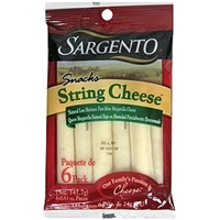 Sargento String Cheese Snacks Mozzarella Food Product Image