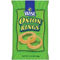 Wise Onion Rings Flavored Food Product Image