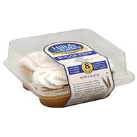 Hill & Valley Cupcakes White, Sugar Free Food Product Image