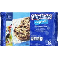 Kroger ChipMates Original Chocolate Chip Cookies Food Product Image