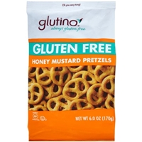 Glutino Honey Mustard Pretzels Food Product Image