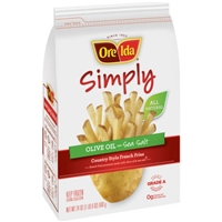 Ore-lda Simply All Natural Country Style French Fries With Olive Oil And Sea Salt Food Product Image