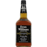 Evan Williams Black Label Whiskey Food Product Image