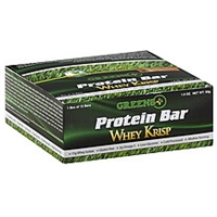 Greens+ Protein Bar Whey Krisp Food Product Image