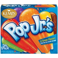 Kemps Pop Jr.'s Popsicles Food Product Image