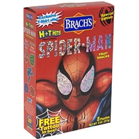 Brach's Fruit Snacks Hot Hits Featuring Spider-Man, Bonus Food Product Image