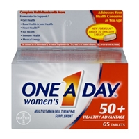 One A Day Women's Multivitamin 50+ Healthy Advantage Tablets - 65 CT Food Product Image