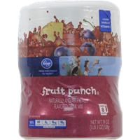 Kroger Fruit Punch Drink Mix Food Product Image