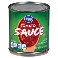Kroger Tomato Sauce Food Product Image