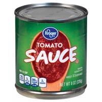 Kroger Tomato Sauce Food Product Image