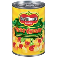 Del Monte Very Cherry Light Syrup Mixed Fruit Food Product Image
