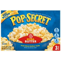 Pop-Secret Extra Butter Popcorn Food Product Image