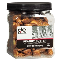 Good & Delish Peanut Butter Filled Pretzels Peanut Butter Food Product Image