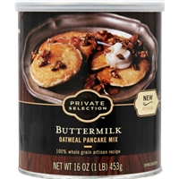 Private Selection Buttermilk Oatmeal Pancake Mix Food Product Image
