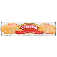 Springfield Dinner Rolls Crescent Original 8 Ct Food Product Image