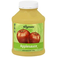Wegmans Applesauce Food Product Image
