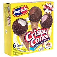 Popsicle Crispy Cones Food Product Image