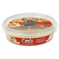 Oasis Hommus Original, Zero Fat Food Product Image