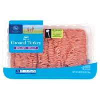 Kroger Ground Turkey 85% Lean Food Product Image