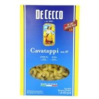 De Cecco Cavatappi no. 87 Food Product Image