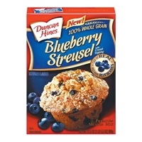 Duncan Hines Blueberry Muffin Mix 21.5 oz Food Product Image