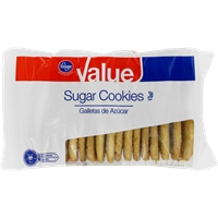 Kroger Value Sugar Cookies Food Product Image