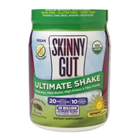 ReNew Life Skinny Gut Ultimate Shake Natural Chocolate Flavor Food Product Image
