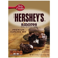 Betty Crocker Hershey's Smores Cupcake Mix Food Product Image