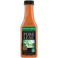 Pure Leaf Real Brewed Tea Unsweetened Black Tea Food Product Image
