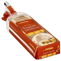 Signature English Muffins Plain Food Product Image